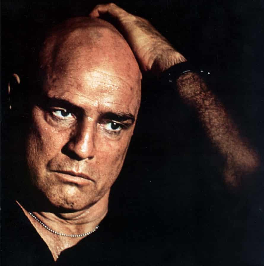 Deranged murmerings … Marlon Brando as Colonel Kurtz.