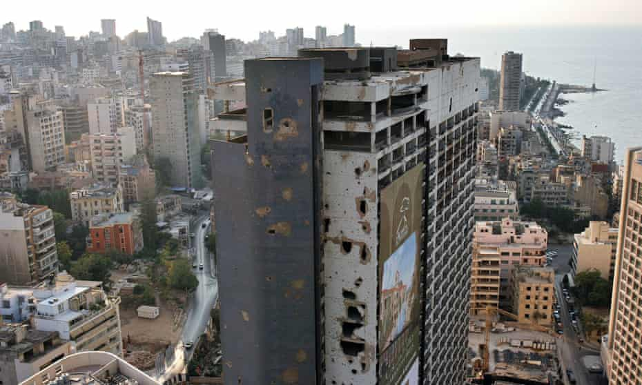 Today, entry to Beirut's Holiday Inn is forbidden to the public. The building's 24 floors are desolate.