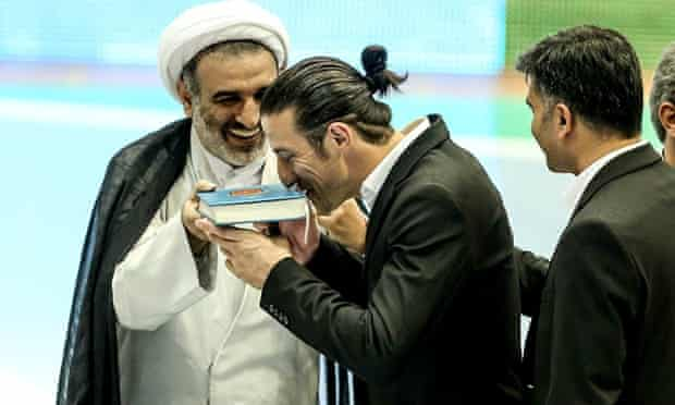 Andranik Teymourian, an Iranian Armenian, is the first Christian to lead Iran's national football team as its permanent captain.