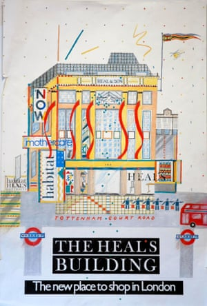Heal's family / V&A Museum Heal's Vintage Posters Building