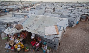 A camp in Port-au-Prince, Haiti, for people displaced by the 2010 earthquake.