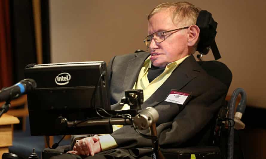 Professor Stephen Hawking lucy