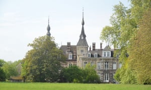 Kasteel de Ribaucourt in Perk, the setting for the first Paradise City Festival, Belgium.