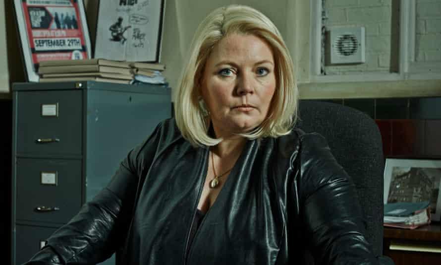 Arresting development: Joanna Scanlon as Detective Inspector Vivienne Deering