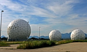 The German secret service's monitoring station in Bad Aibling, Bavaria.
