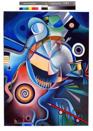 Metamorphosen (Richard Strauss) Acrylic on canvas