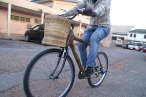 Ghana Bamboo 'City' bike.