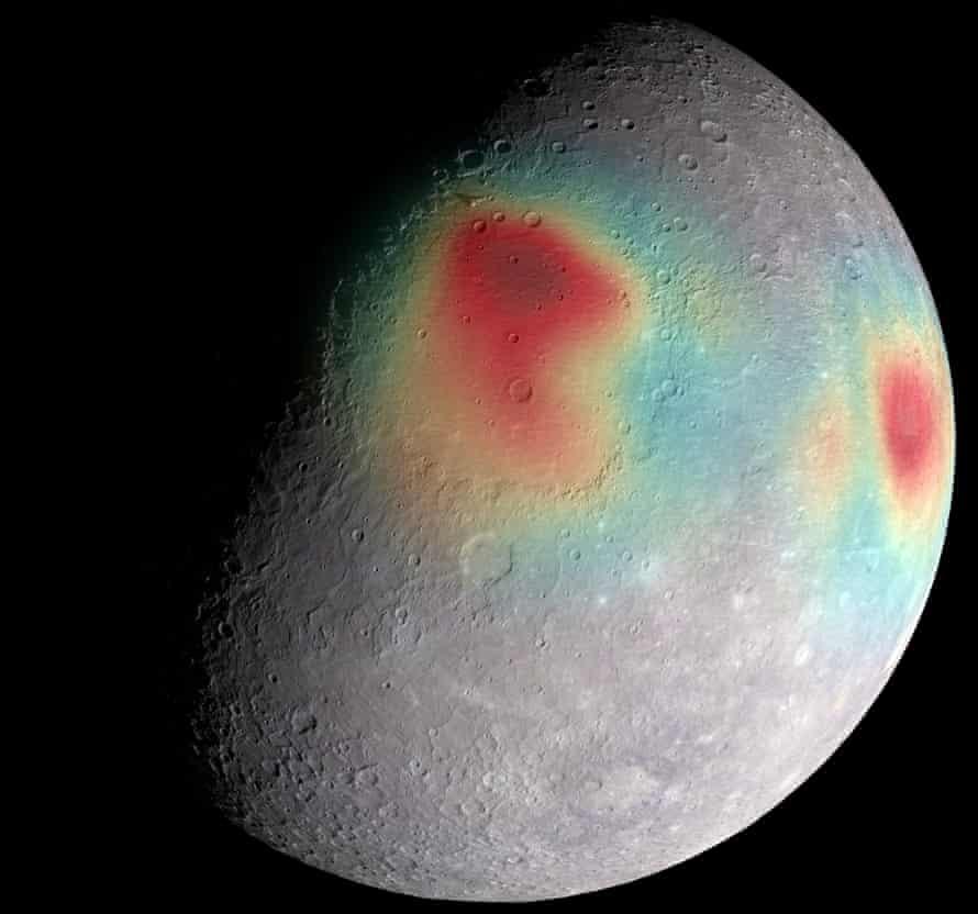 Mercury's gravity anomalies Messenger
