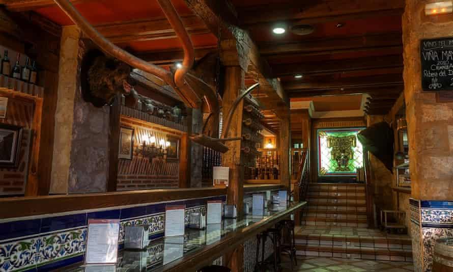 Los Zagales tapas bar, Valladolid