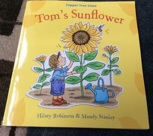 Tom's Sunflower by Hilary Robinson