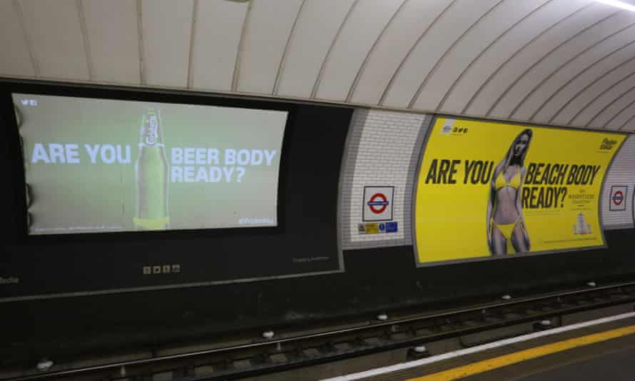 Carlsberg picks a great spot for its beach body read ad