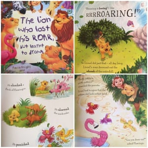 The Lion Who Lost His Roar, but Learnt to Draw by Paula Knight and Daniel Howarth