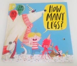 How Many Legs? by Kes Gray and Jim Field