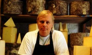 Randolph Hodgson of Neals Yard Dairy.