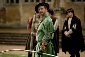 Fit for a king? King Henry VIII (Damian Lewis) sports a barely there codpiece in Wolf Hall.