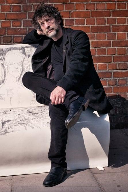 Neil Gaiman. Photograph: Sarah Lee