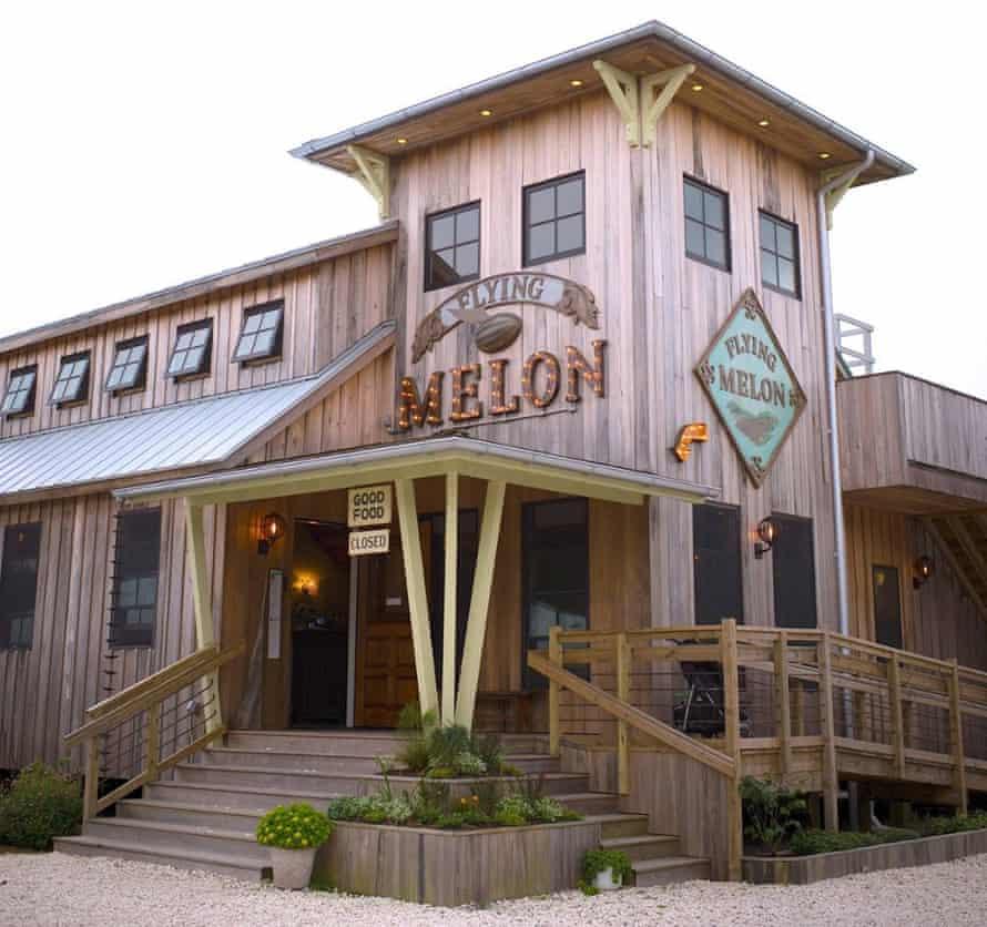 Flying Melon Café, Okracoke.