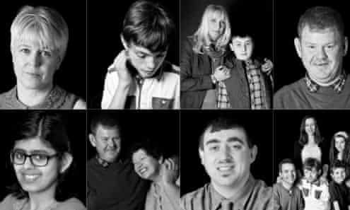 Mencap manifesto cover showing those with learning disabilities and their families.