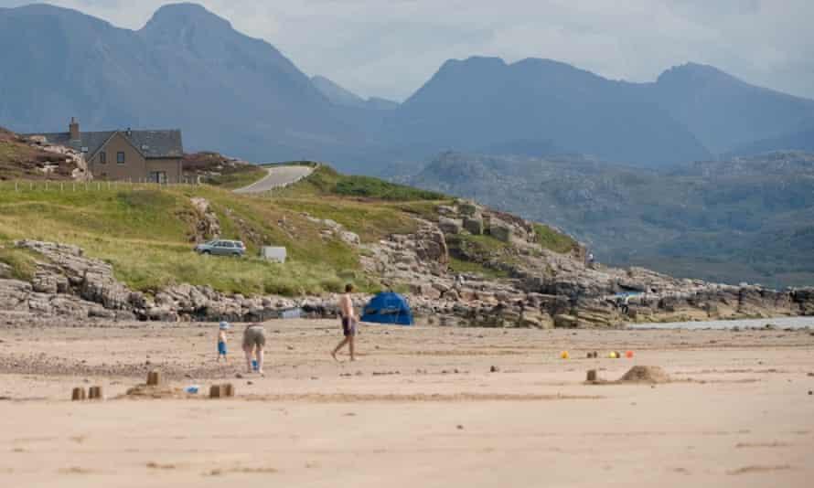 Sands Caravan and Camping Park, Gairloch, Wester Ross, Scotland