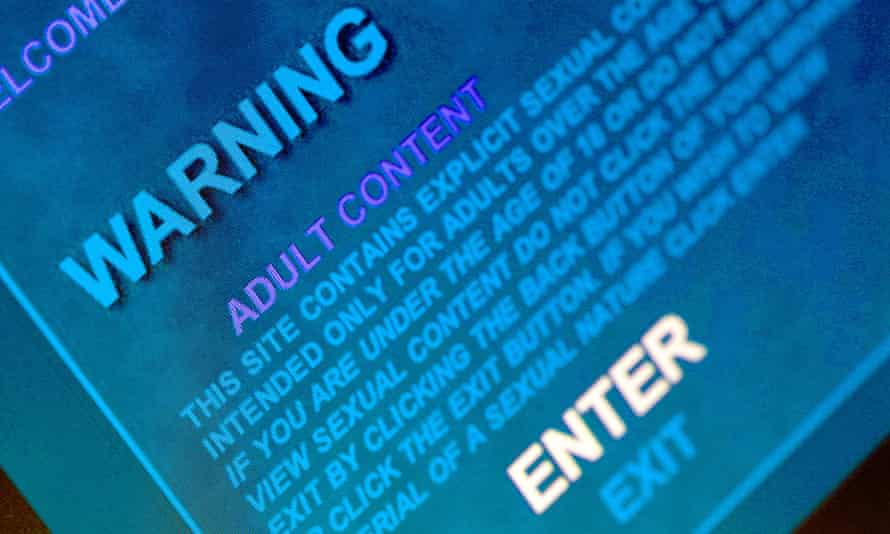 Age restriction online pornography