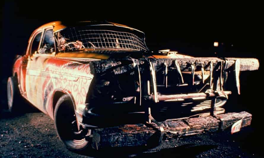 Monster automobile madness in the 1974 film The Cars That Ate Paris.