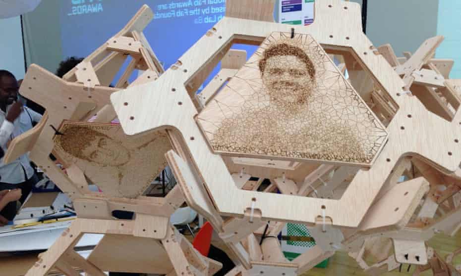 Digital fabrication community workshops, Barcelona