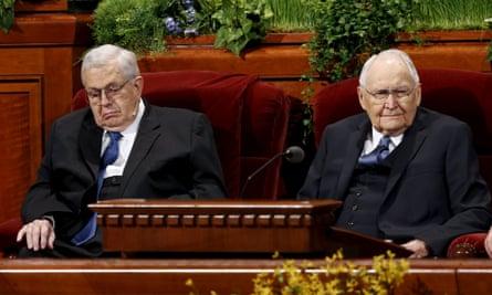 Boyd Packer Tom Perry Mormon