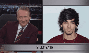 Bill Maher discussing former One Direction singer Zayn Malik.
