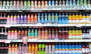 The Local Government Association says sugary drink products are fuelling obesity.