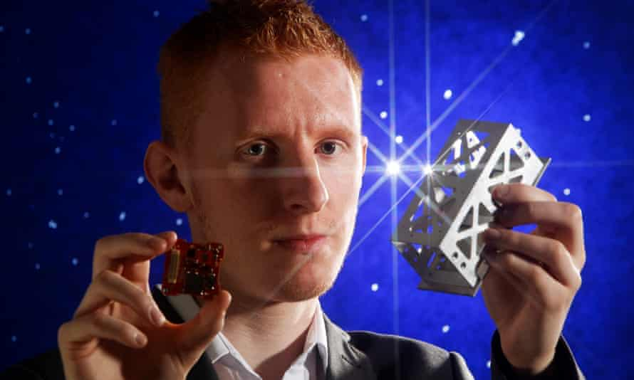 The PocketQube Shop, run by 25-year-old Tom Walkinshaw, sells satellites the size of a smartphone.