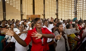 An Easter Sunday ceremony at Our Lady of Consolation Church in Garissa.