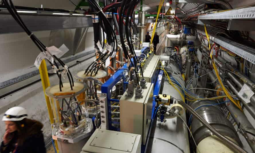 The Large Hadron Collider at Cern in 2013.