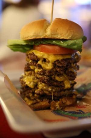 Wayback Triple Triple Cheeseburger