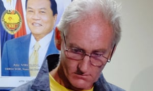 Peter Gerard Scully in custody in the southern Philippines city of southern island of Mindanao