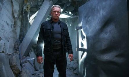 Schwarzenegger in Terminator: Genisys.