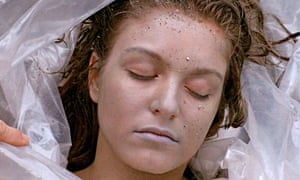 Laura Palmer, played by Sheryl Lee in the pilot episode of Twin Peaks.