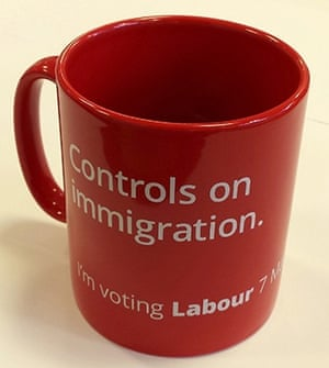 Labour Party Mug - Controls on immigration