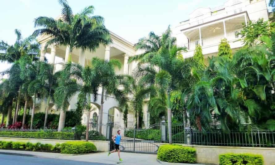 Running in Barbados
