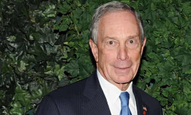 Michael Bloomberg at MoMA