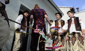 Slovakia easter water traditions