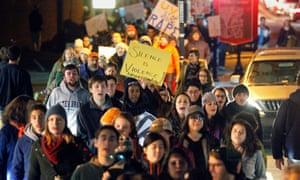 UVA protest