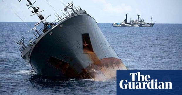 Captain deliberately sank illegal fishing vessel, claim Sea Shepherd  rescuers