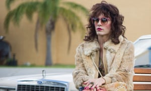 """This image released by Focus Features shows Jared Leto as Rayon in a scene from """"Dallas Buyers Club."""" The film has six Oscar nominations, including best picture. This year's best picture race at the 86th Academy Awards on Sunday, March 2, 2014, has shaped up to be one of the most unpredictable in years.  (AP Photo/Focus Features, Anne Marie Fox, File)"""