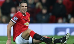 Manchester United's Robin van Persie possibly hears news emanating from today's gossip-mongers.