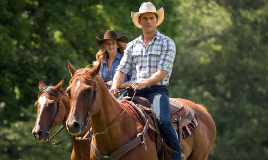 Britt Robertson and Scott Eastwood in The Longest Ride.