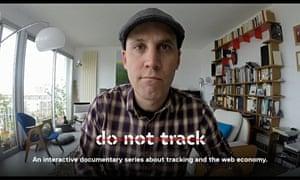 Brett Gaylor, director of Do Not Track.