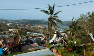 Port Vila after Cyclone Pam