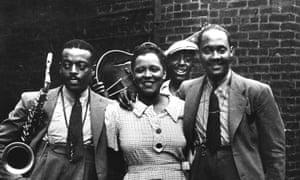 Ben Webster, Billie Holiday and Johnny Russellin Harlem, 1935