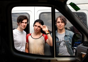 The Cribs in Holland in 2005