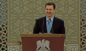To this day our official position remains that Assad must go and the opposition should be supported.